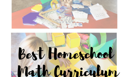 The Best Homeschool Math Curriculum