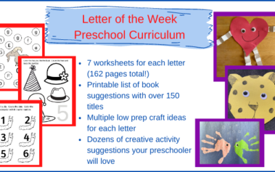 Fun and Flexible Letter of the Week Preschool Curriculum