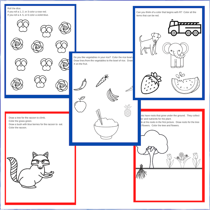 preschool curriculum printables
